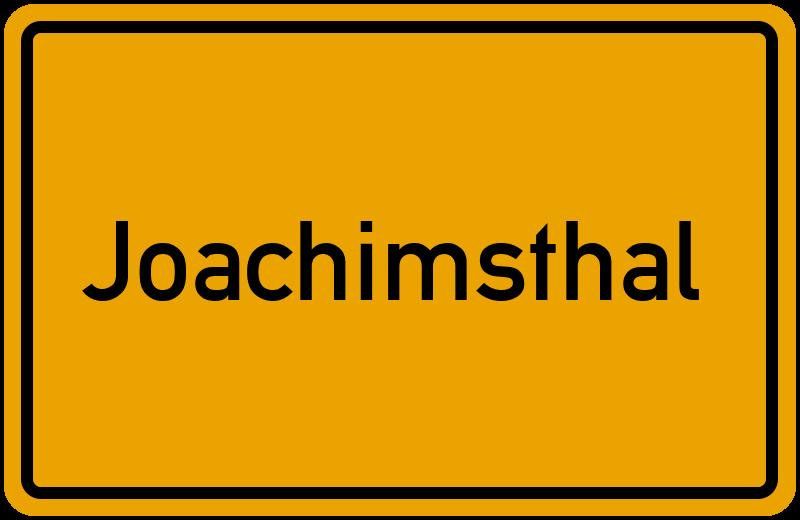 onlinestreet Branchenbuch für Joachimsthal