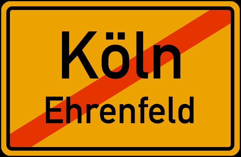 Ortsschild Köln