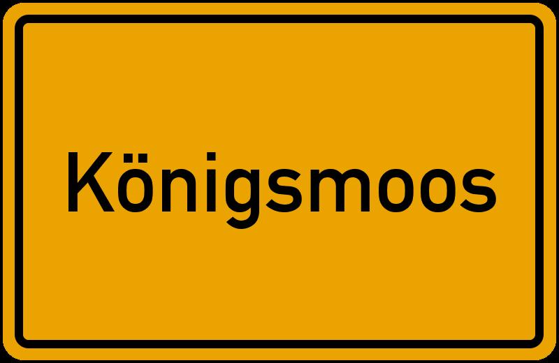 onlinestreet Branchenbuch für Königsmoos
