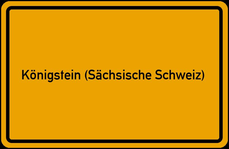 onlinestreet Branchenbuch für Königstein (Sächsische Schweiz)