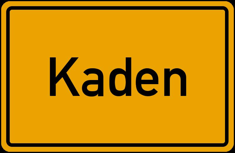 onlinestreet Branchenbuch für Kaden