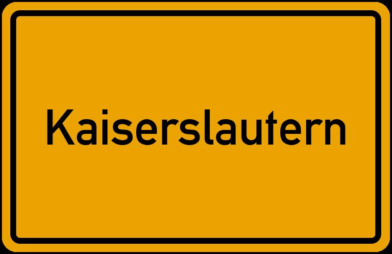 Postleitzahlen Kaiserslautern 5 Plz Für Kaiserslautern In