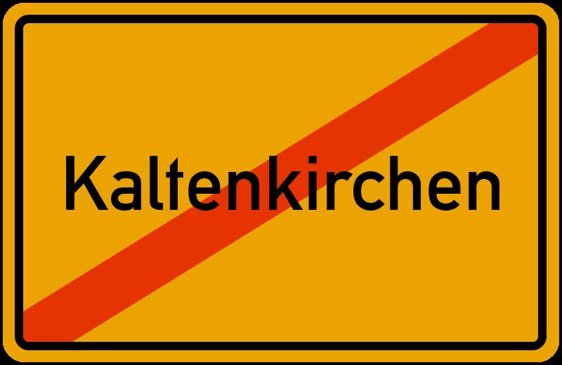 Ortsschild Kaltenkirchen