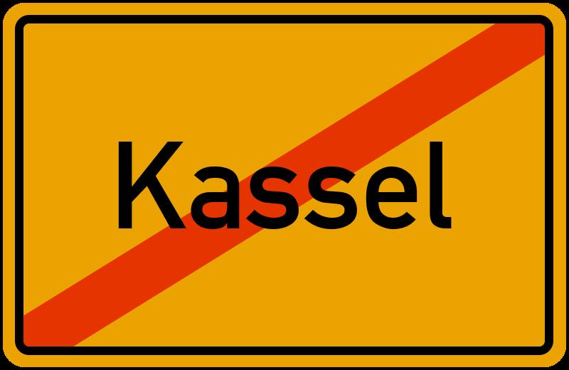 Ortsschild Kassel