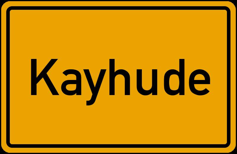 onlinestreet Branchenbuch für Kayhude