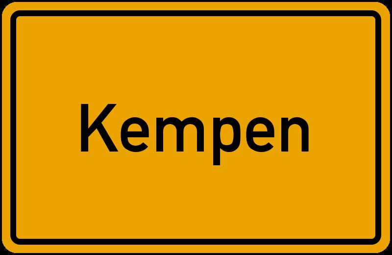 onlinestreet Branchenbuch für Kempen