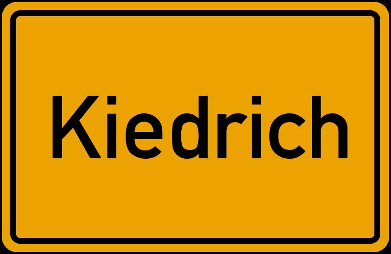 onlinestreet Branchenbuch für Kiedrich