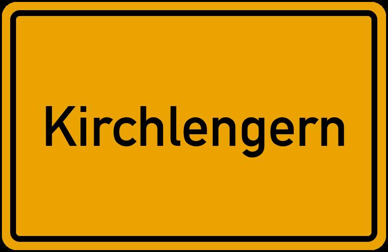 Ortsschild Kirchlengern