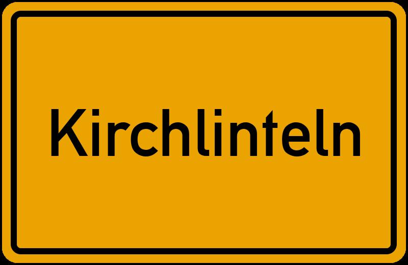 Ortsschild Kirchlinteln