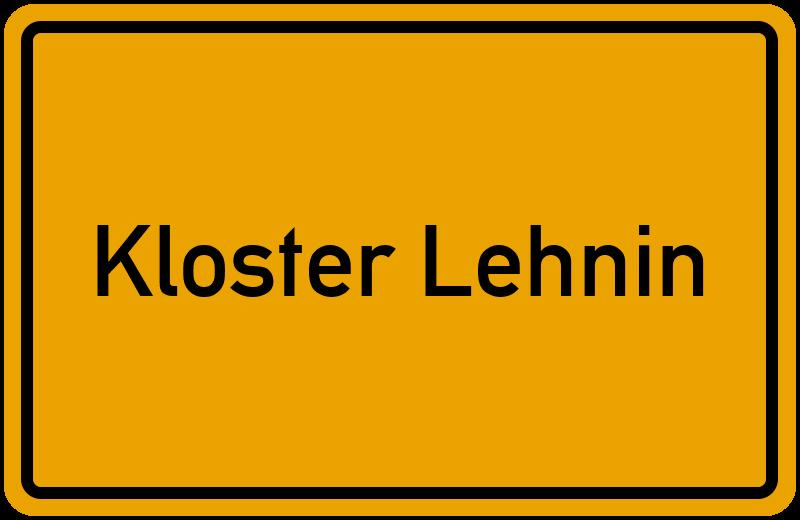 onlinestreet Branchenbuch für Kloster Lehnin