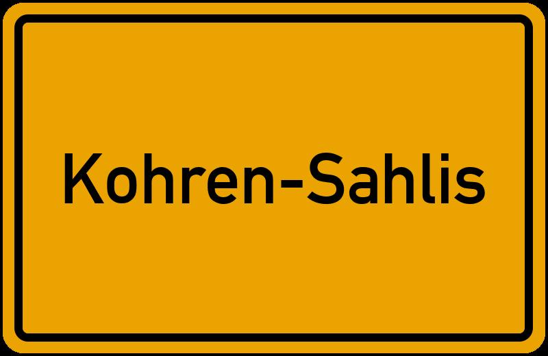 onlinestreet Branchenbuch für Kohren-Sahlis