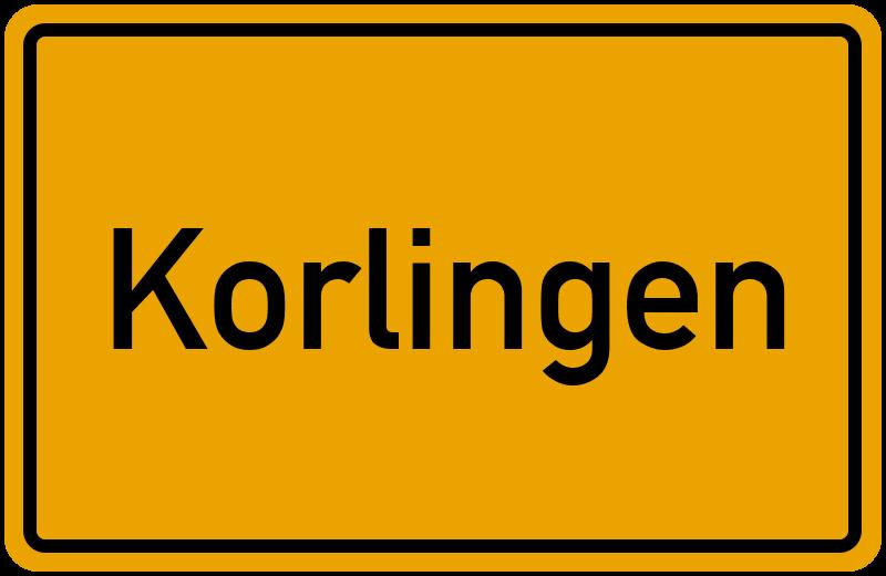onlinestreet Branchenbuch für Korlingen