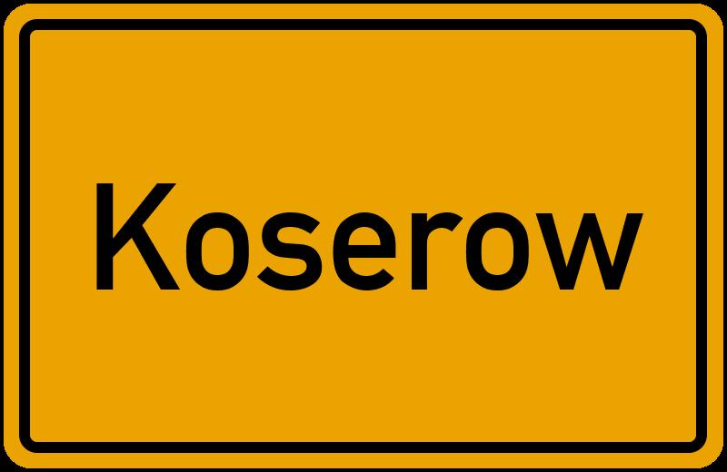 onlinestreet Branchenbuch für Koserow