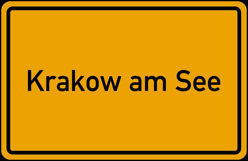 onlinestreet Branchenbuch für Krakow am See