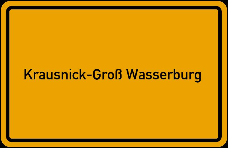 onlinestreet Branchenbuch für Krausnick-Groß Wasserburg