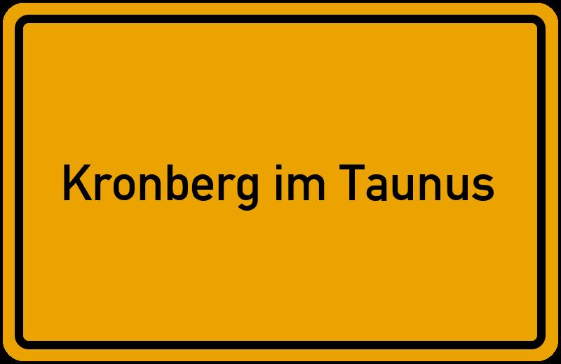 onlinestreet Branchenbuch für Kronberg im Taunus