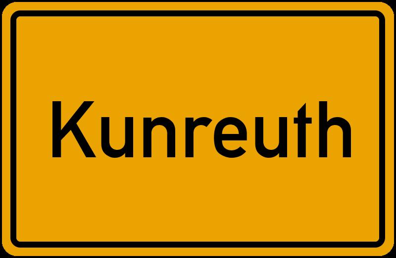 wo liegt kunreuth lageplan kunreuth bayern deutschland. Black Bedroom Furniture Sets. Home Design Ideas