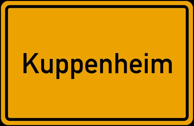 onlinestreet Branchenbuch für Kuppenheim