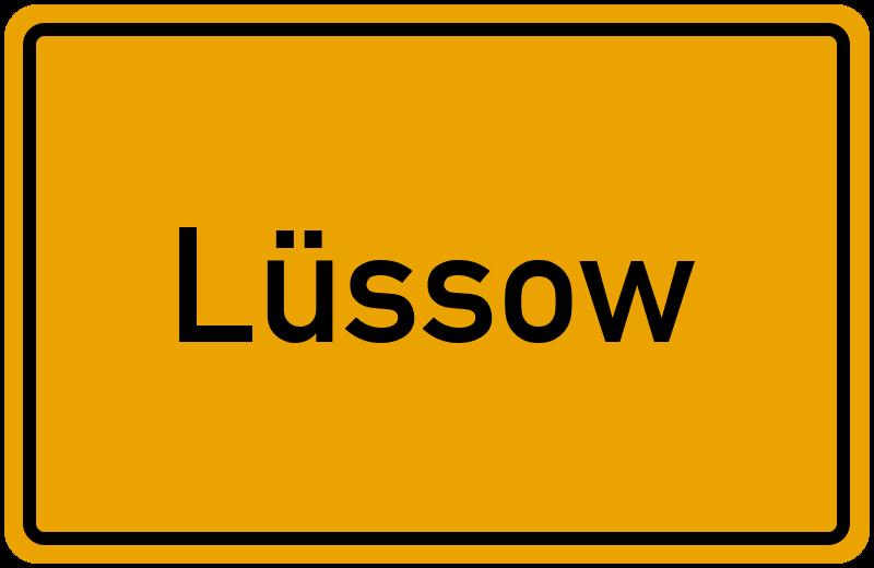 onlinestreet Branchenbuch für Lüssow