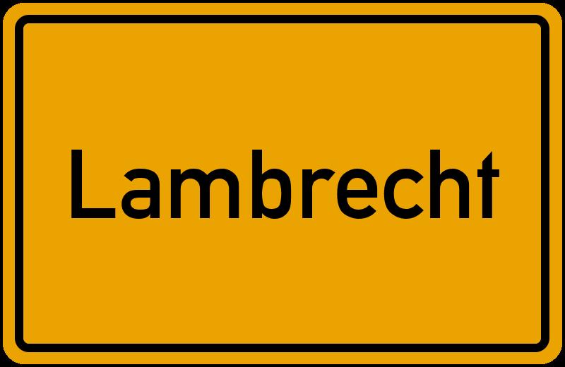 onlinestreet Branchenbuch für Lambrecht