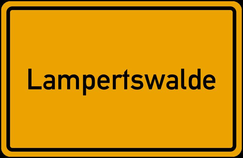 onlinestreet Branchenbuch für Lampertswalde