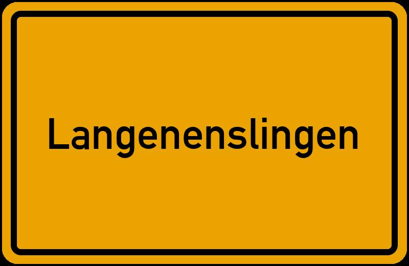 onlinestreet Branchenbuch für Langenenslingen