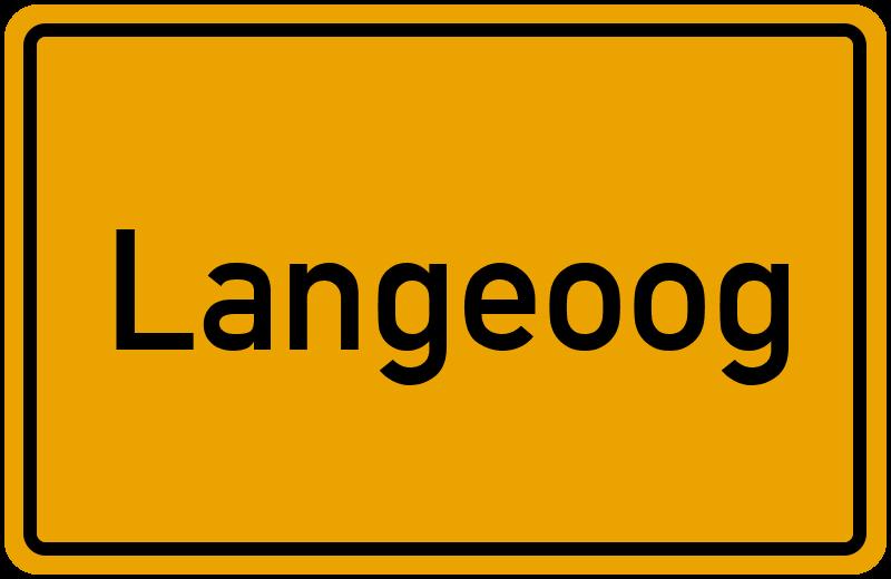 onlinestreet Branchenbuch für Langeoog