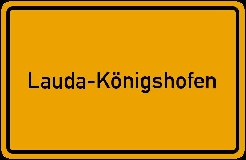 onlinestreet Branchenbuch für Lauda-Königshofen