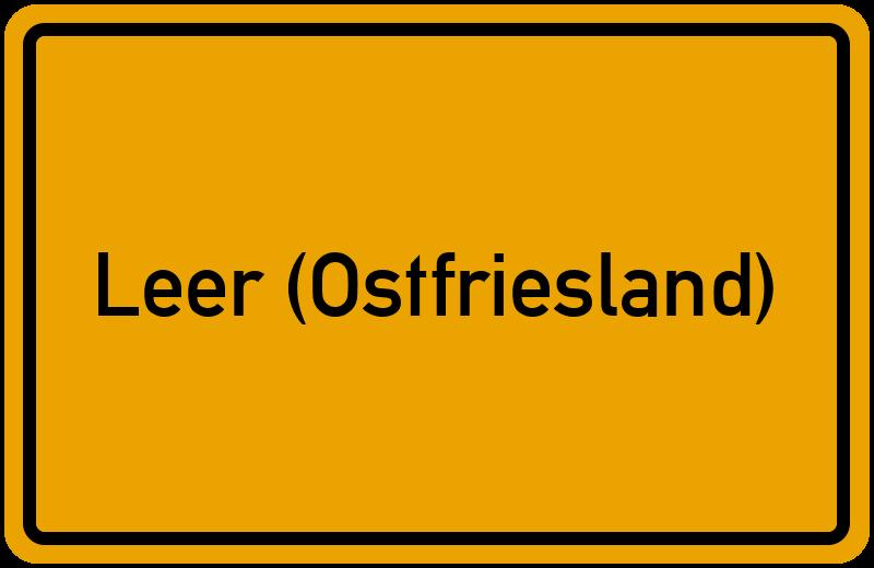 onlinestreet Branchenbuch für Leer (Ostfriesland)