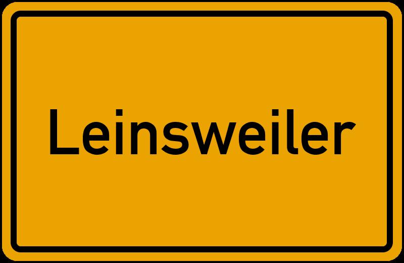 onlinestreet Branchenbuch für Leinsweiler