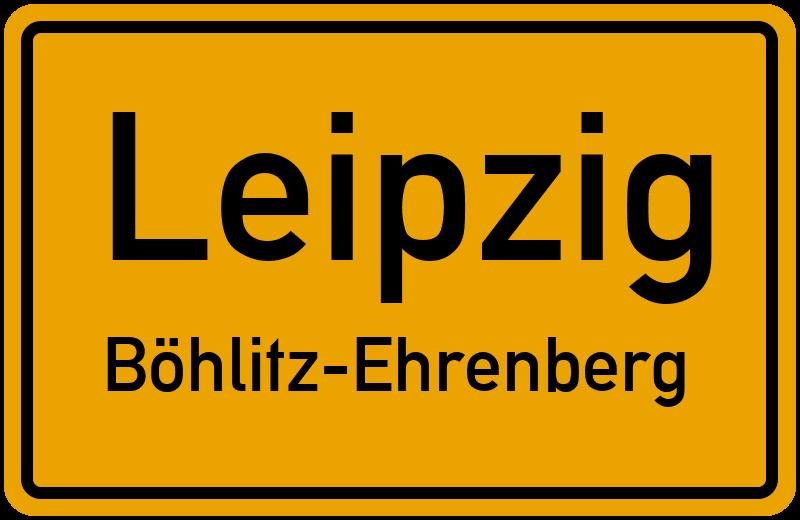 Ortsschild Leipzig Bohlitz Ehrenberg Kostenlos Download Drucken