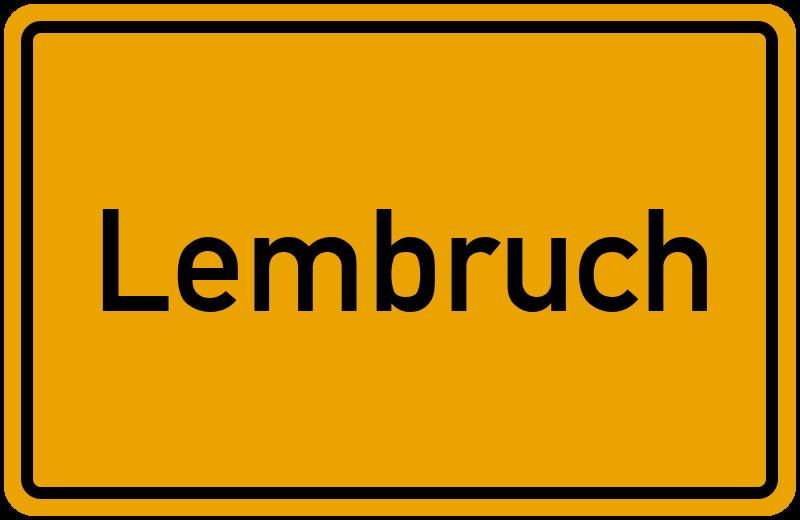 onlinestreet Branchenbuch für Lembruch
