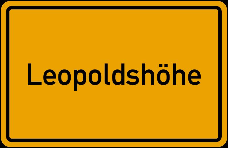 onlinestreet Branchenbuch für Leopoldshöhe
