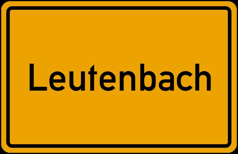 onlinestreet Branchenbuch für Leutenbach