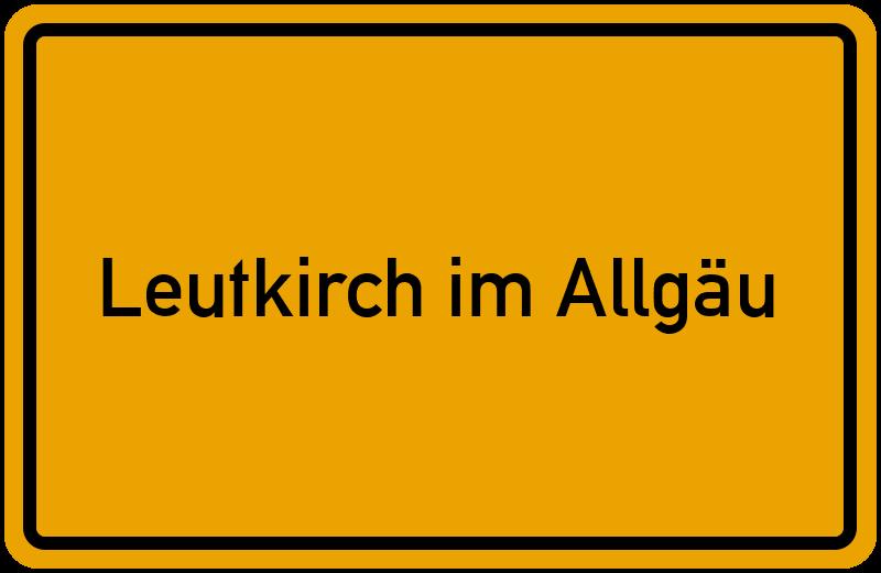 onlinestreet Branchenbuch für Leutkirch im Allgäu