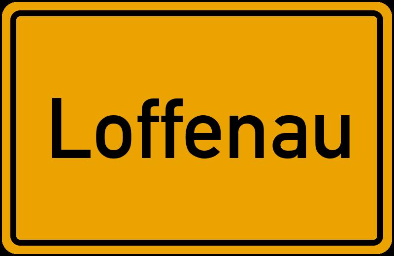 onlinestreet Branchenbuch für Loffenau