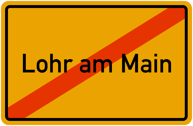 Ortsschild lohr am main kostenlos download drucken for Heimbach lohr am main