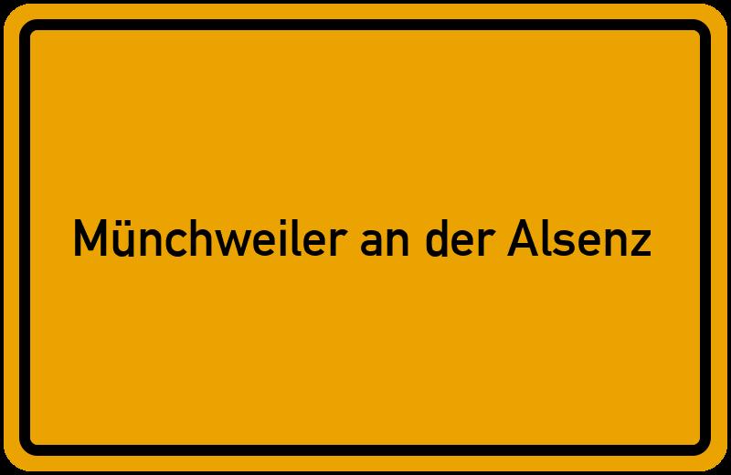 onlinestreet Branchenbuch für Münchweiler an der Alsenz