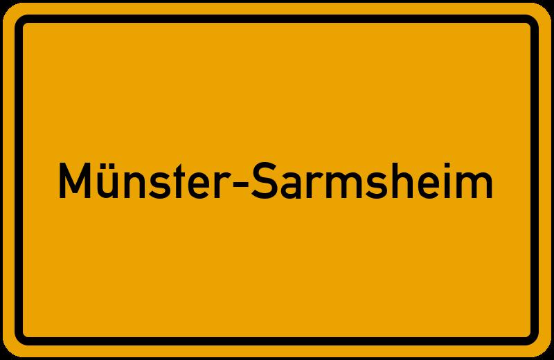 onlinestreet Branchenbuch für Münster-Sarmsheim
