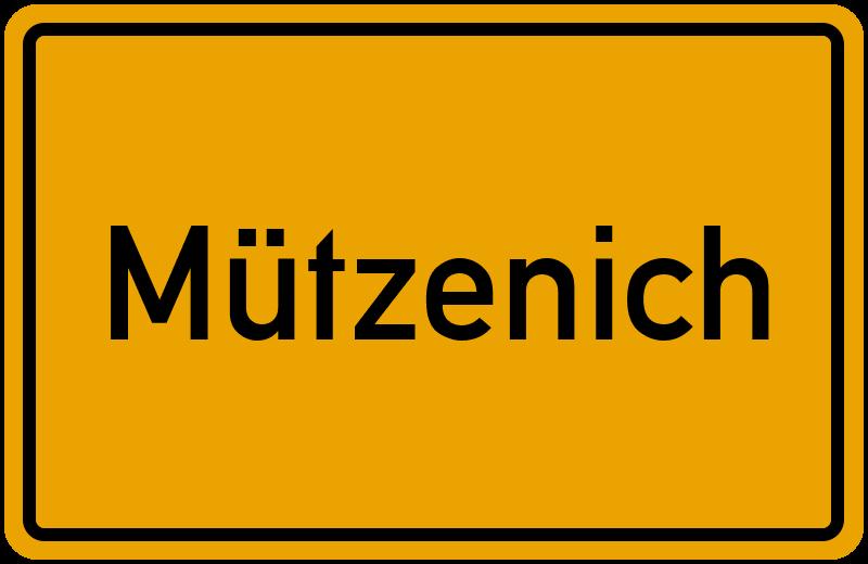onlinestreet Branchenbuch für Mützenich