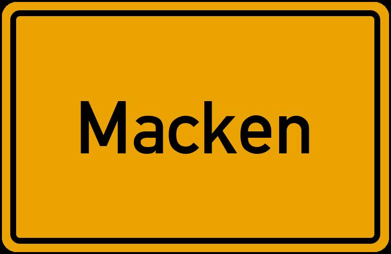 onlinestreet Branchenbuch für Macken