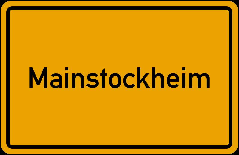 onlinestreet Branchenbuch für Mainstockheim