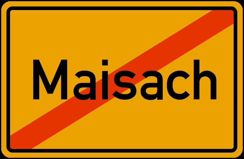 Ortsschild Maisach