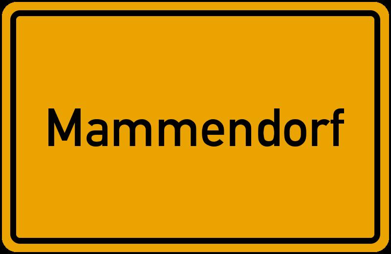 Ortsschild Mammendorf