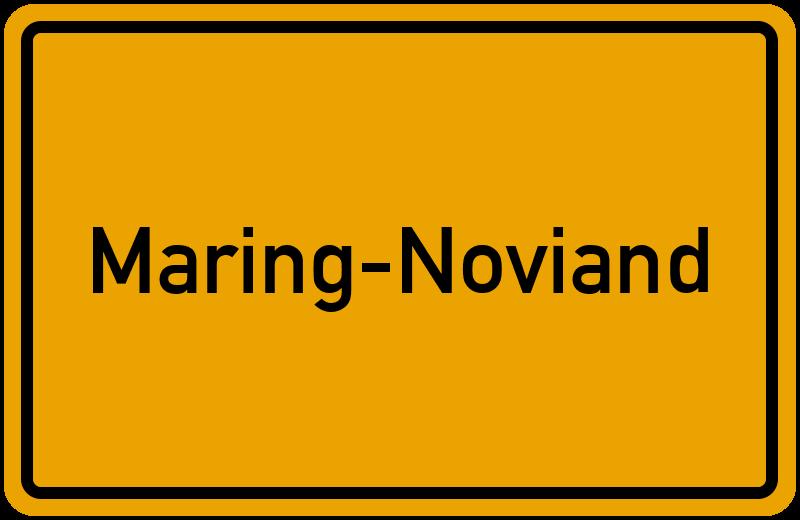 onlinestreet Branchenbuch für Maring-Noviand