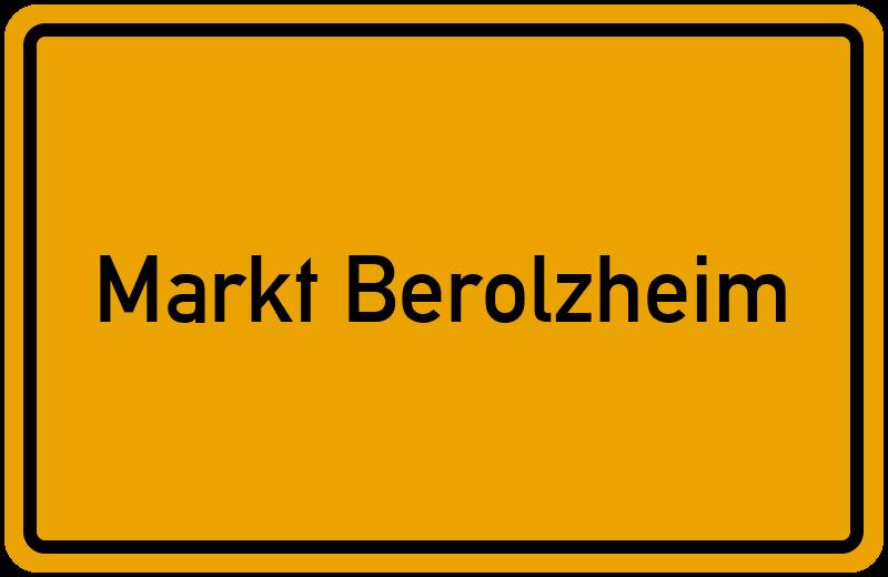onlinestreet Branchenbuch für Markt Berolzheim