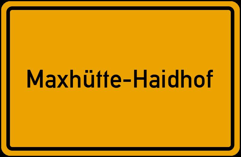 onlinestreet Branchenbuch für Maxhütte-Haidhof