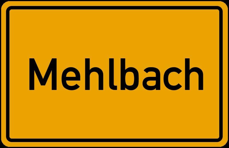 onlinestreet Branchenbuch für Mehlbach