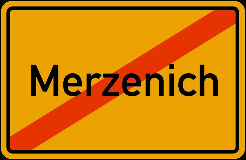 Ortsschild Merzenich