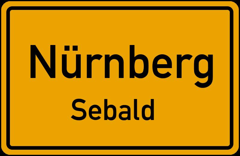 Ortsschild Nürnberg